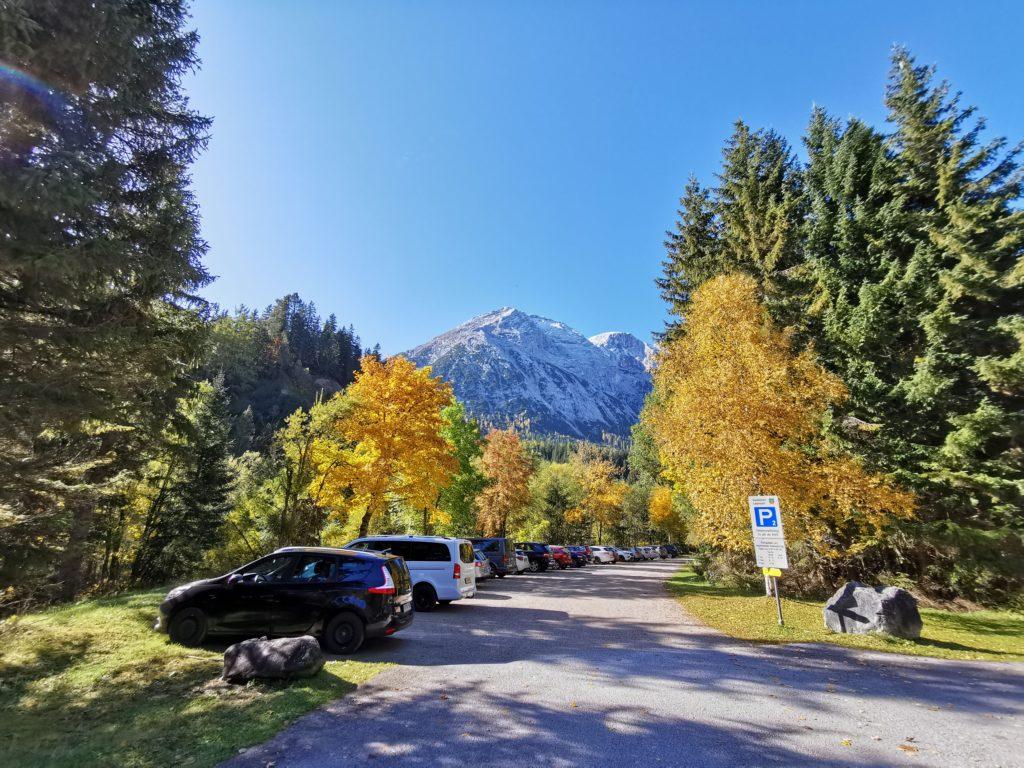 Seebensee Anreise: Im Gaistal parken und hinauf zum Seebensee starten