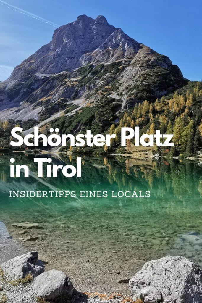 Schönste Orte Tirol Sommer - der Seebensee ist einer davon!